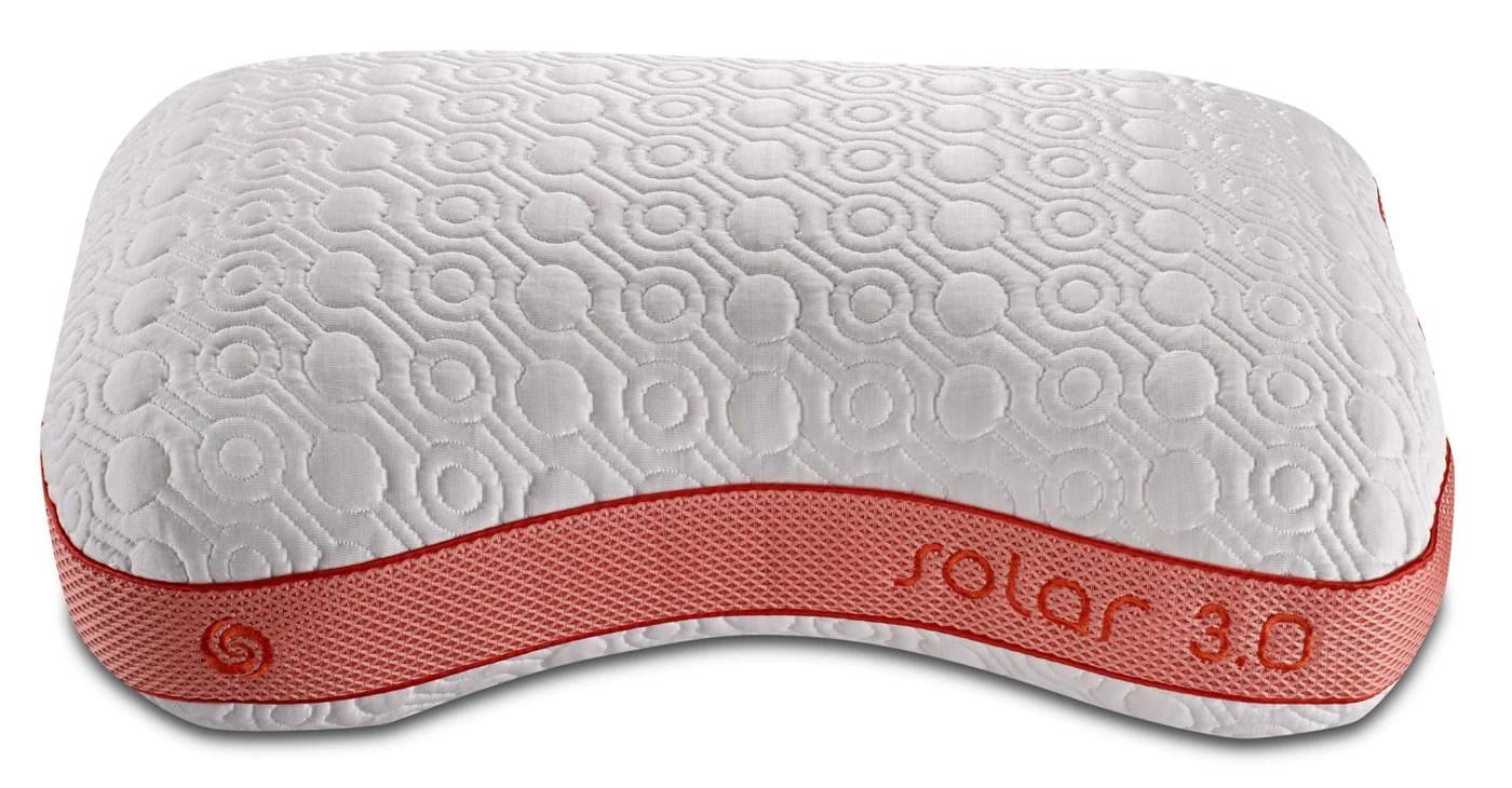 bedgear solar performance pillow side sleeper