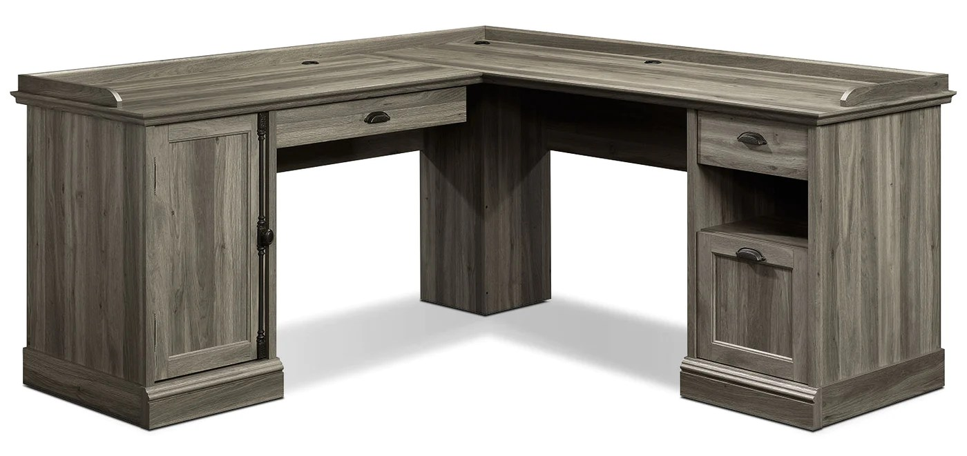 Barrister Lane Corner Desk Salt Oak