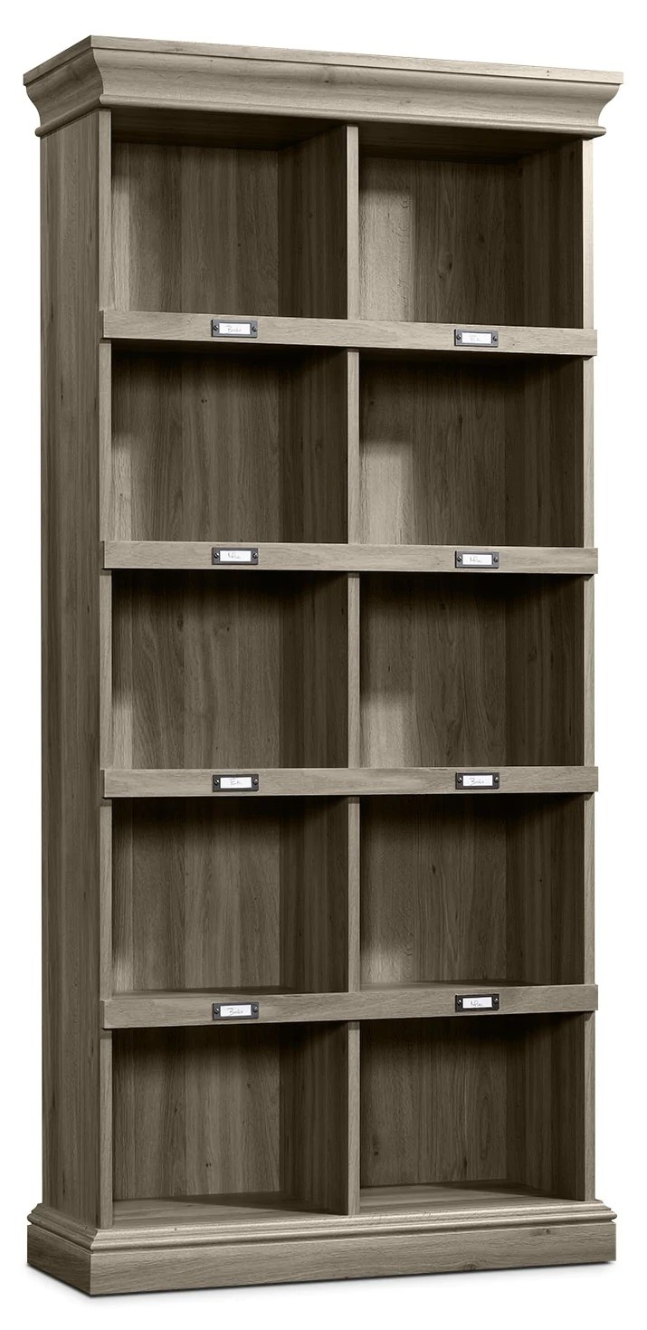 Barrister Lane Tall Bookcase Salt Oak