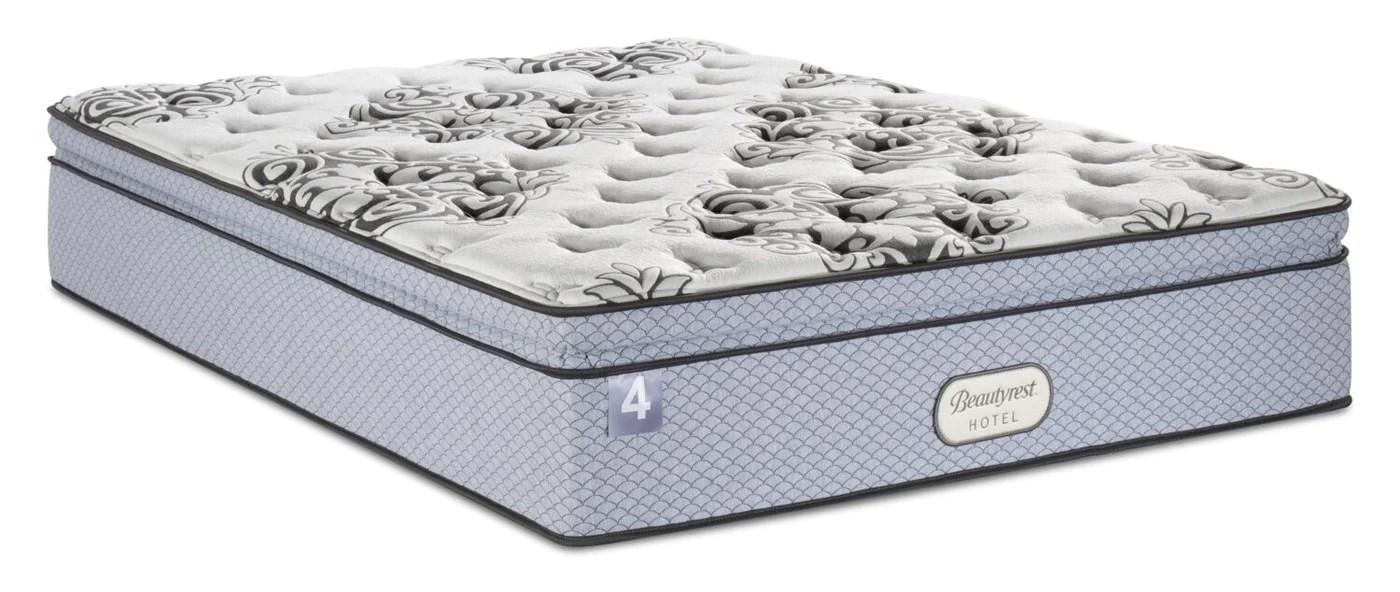 beautyrest hotel 4 pillowtop queen mattress