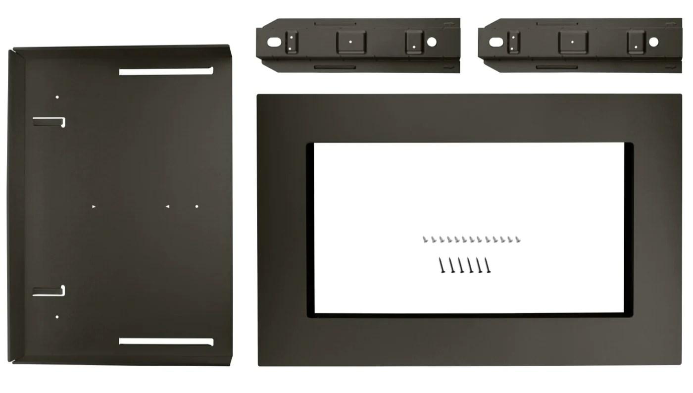 whirlpool 27 countertop microwave trim kit mk2167av