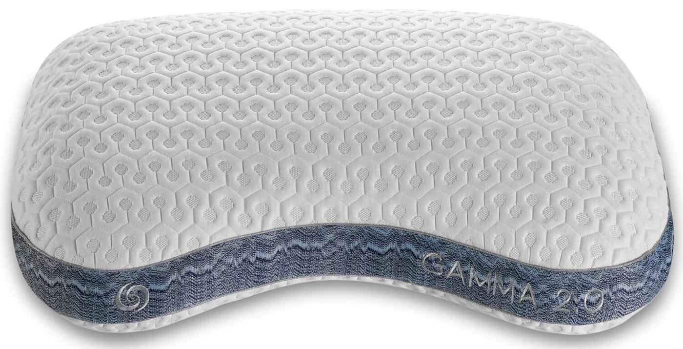 bedgear gamma 2 0 pillow back sleeper