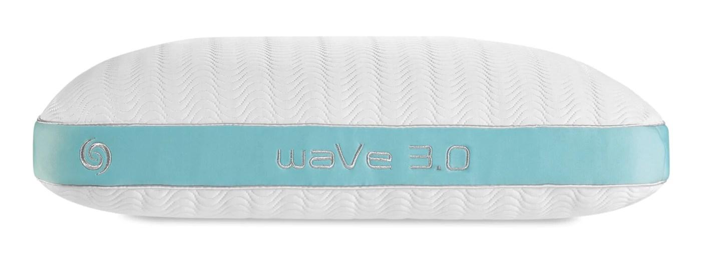bedgear wave 3 0 pillow side sleeper