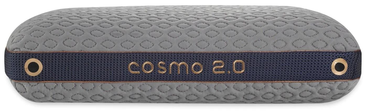 bedgear cosmo 2 0 pillow back sleeper