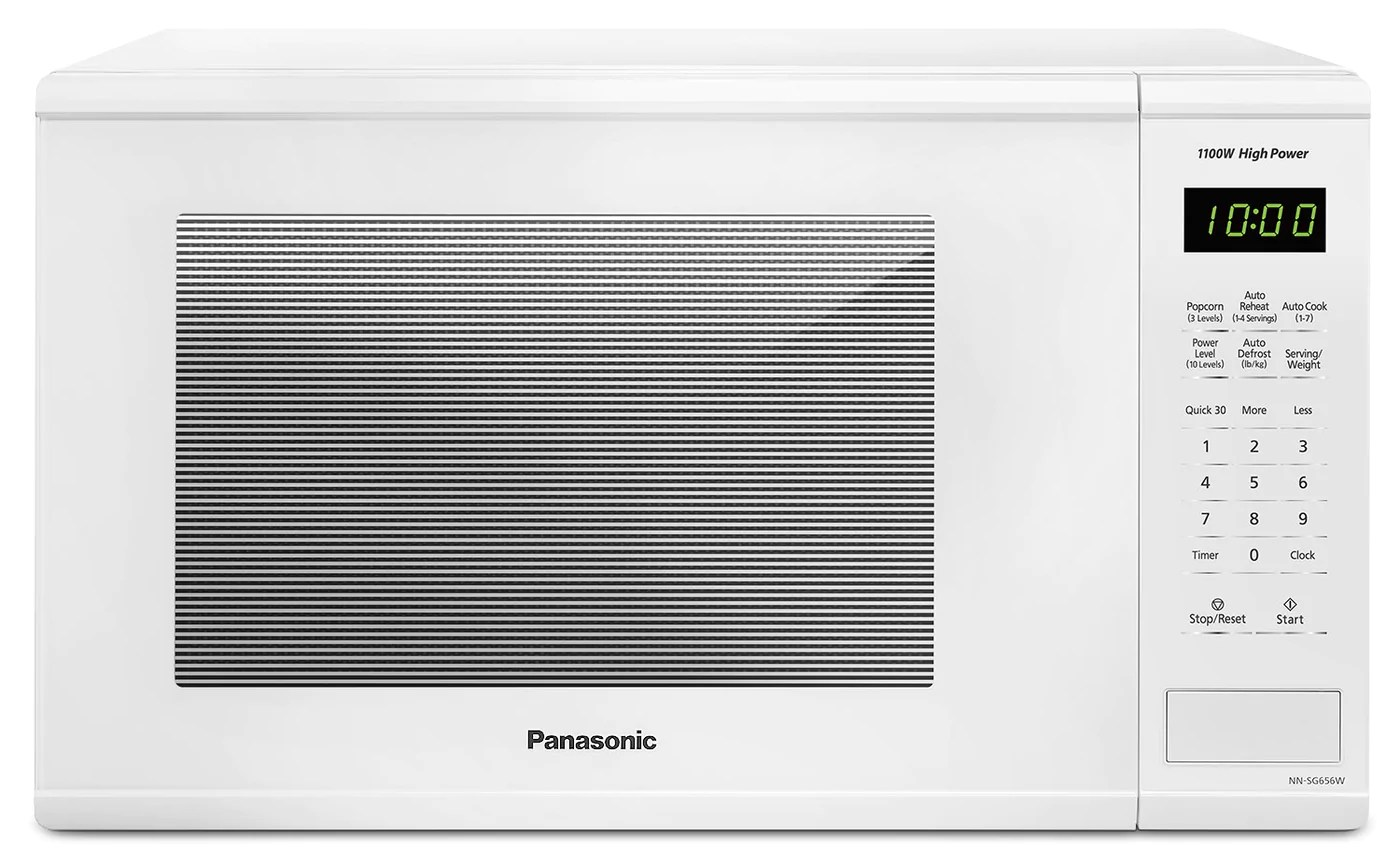 panasonic 1 3 cu ft countertop microwave nnsg656w