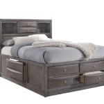 King Storage Bed E E Ki Bunks And Beds