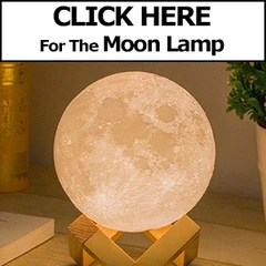 Levitating Moon Lamp - US Plug