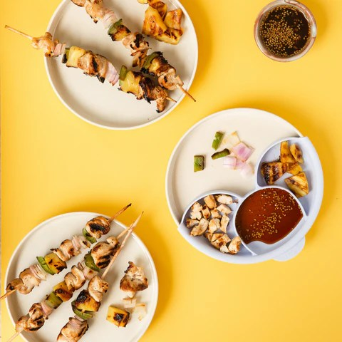 Chicken and pineapple skewers for summer fruit recipes for kids blog miniware