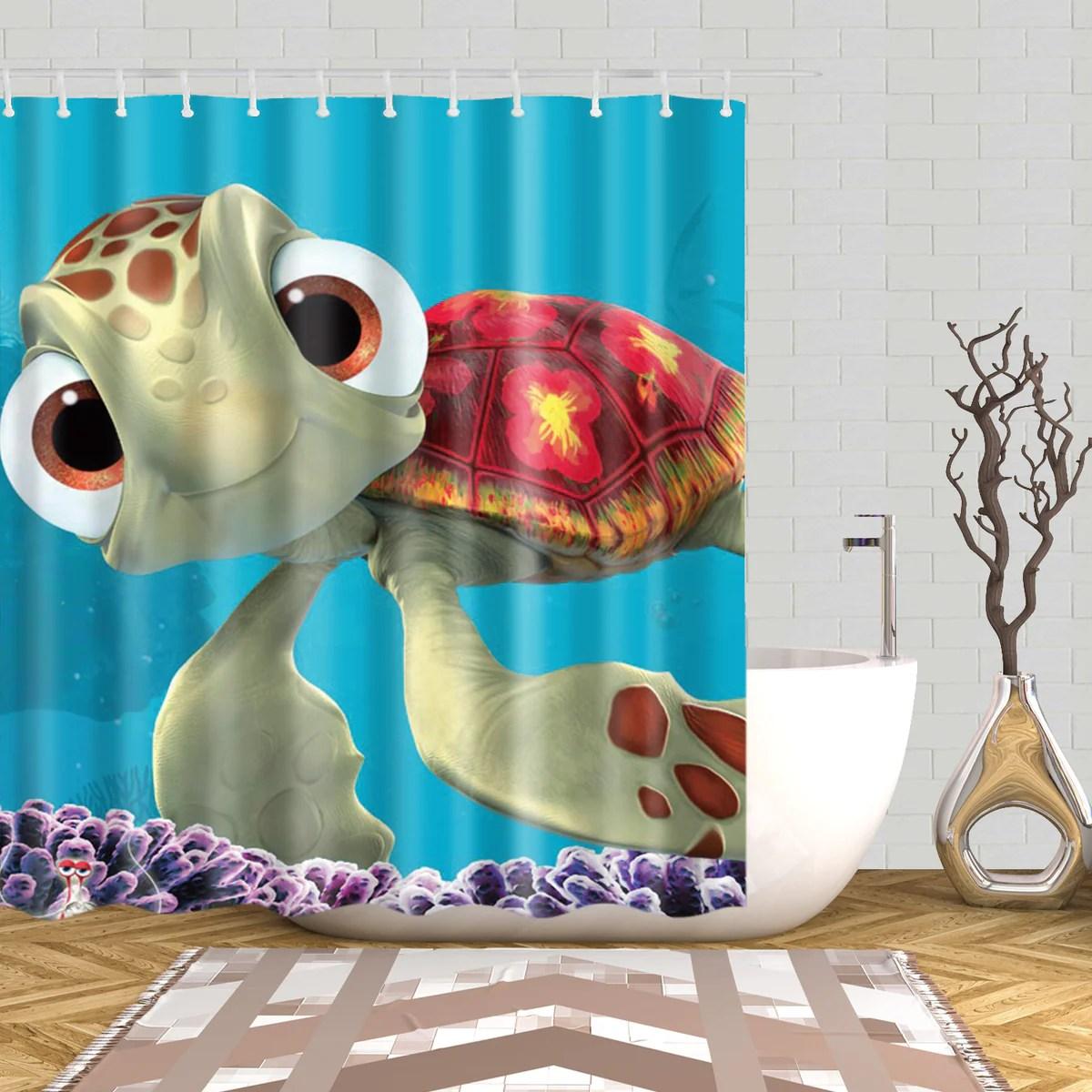 finden nemo squirt dusche vorhang gojeek