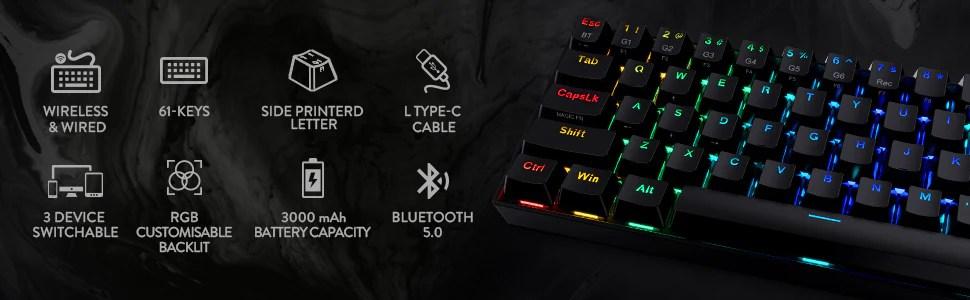 redragon 60% keyboard