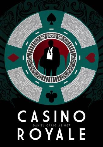casino royale james bond poster buy