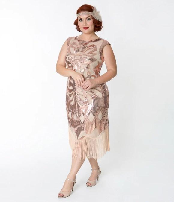 1920s Dresses & Flapper-Inspired Fashion – Unique Vintage