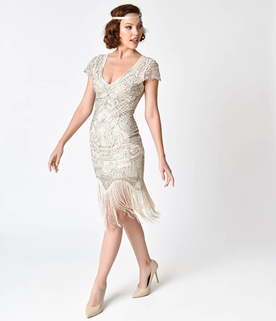 1920s Dresses Amp Flapper Inspired Fashion Unique Vintage