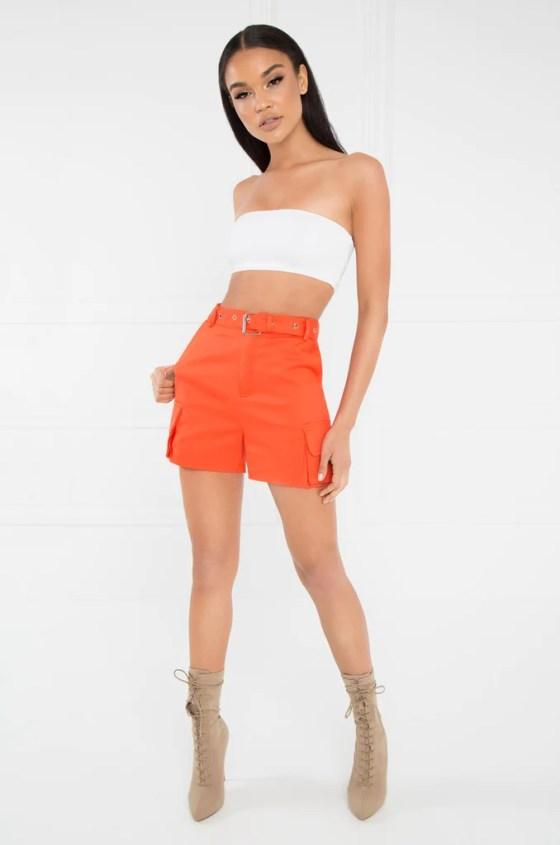 Play The Game Shorts - Orange 6