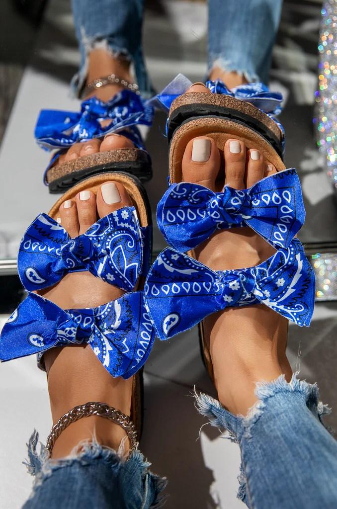 Baddie Vacay - Blue