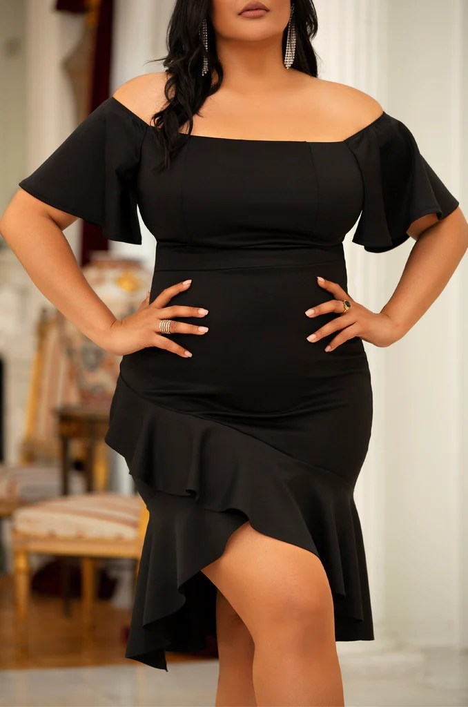 Bella Maldicion Dress - Black 2