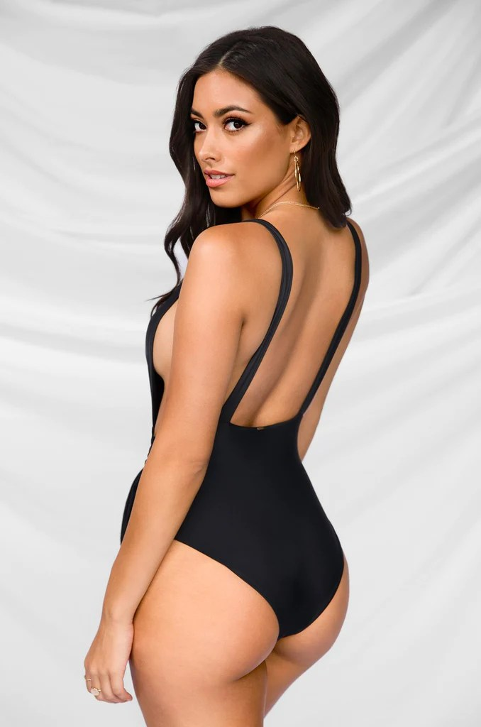 Some Like It Haute Swimsuit - Black