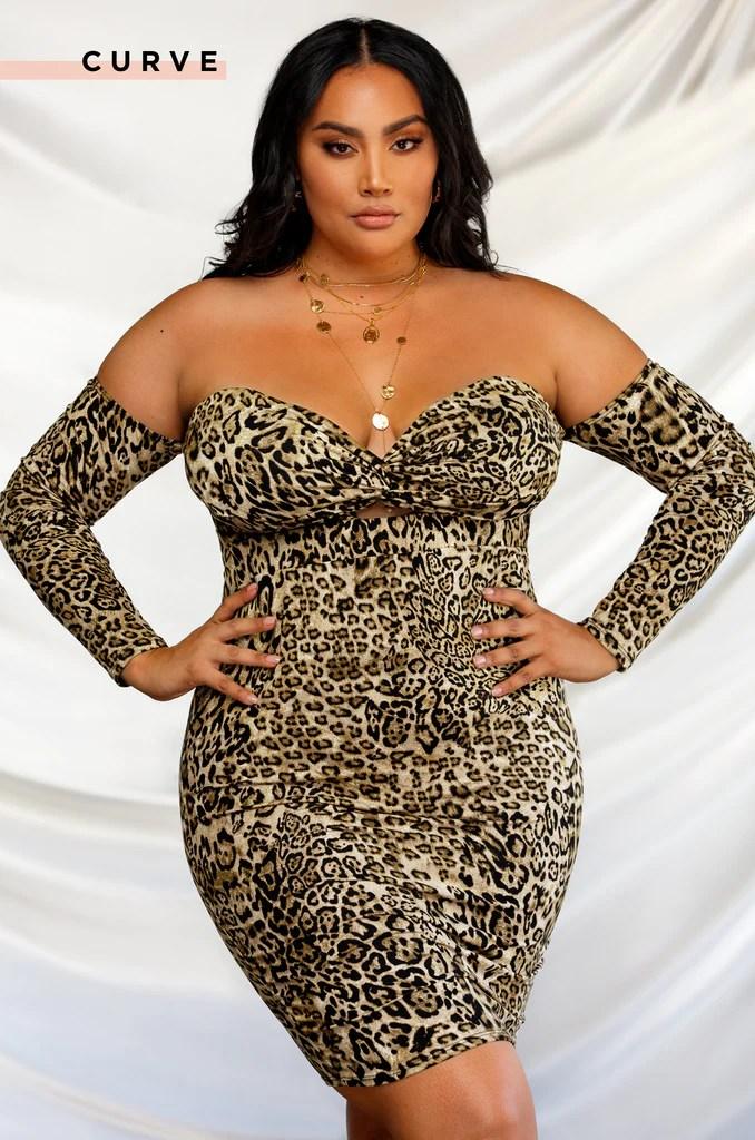 Wild Intentions Dress - Leopard 19