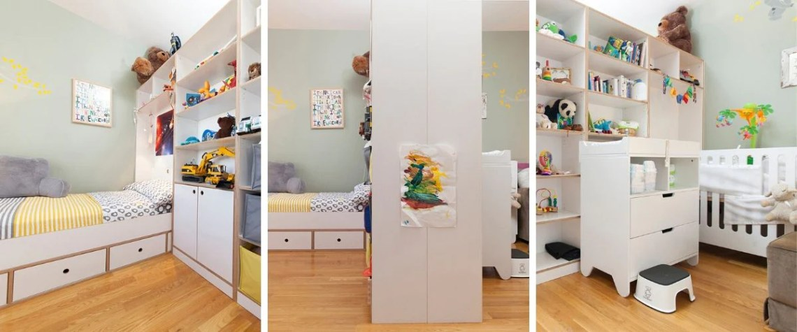 How To Divide A Shared Kids Room