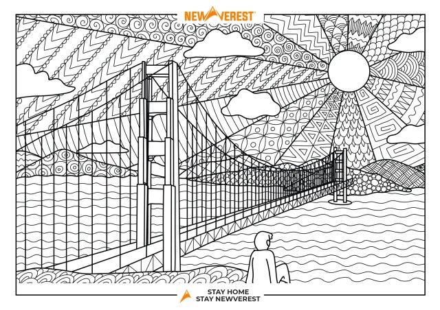 FREE Travel-Inspired Coloring Pages, Part II – Newverest