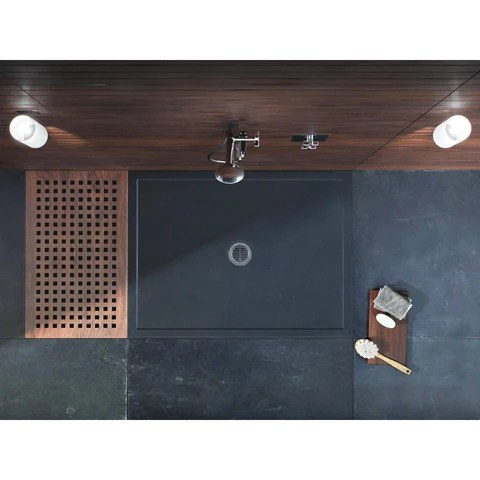 matki universal 40 cast stone and polyester capping shower tray