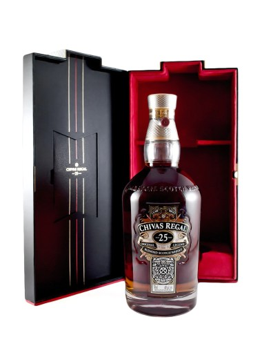 "Chivas Regal ""Original Legend"" 25 Year Old Blended Scotch Whiskey (Sco –  The Urban Grape"