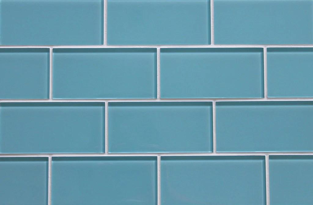 infinity blue 3x6 glass subway tiles