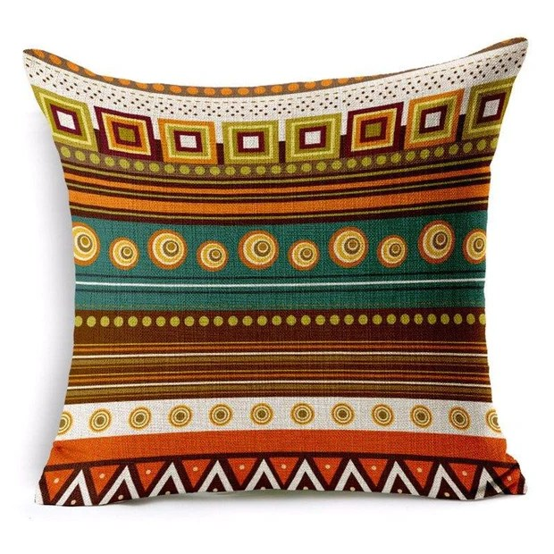 african bohemian pillow covers
