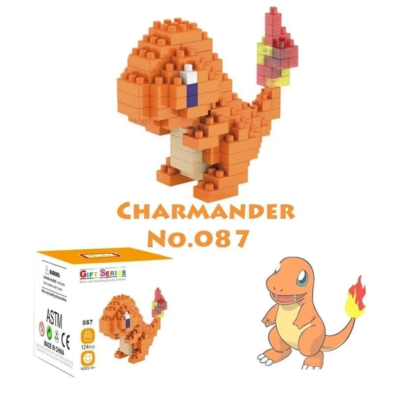 pokemon go pikachu building blocks toy