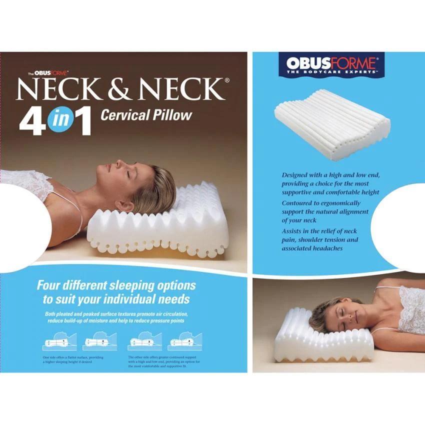 neck neck 4 in 1 cervical pillow