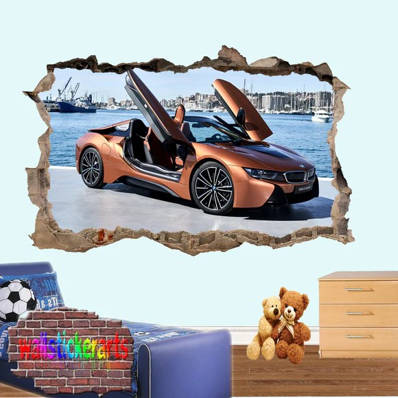 We have a large selection of wall murals and wallpaper murals in all sizes. Home Decor Details About 3d Aston Martin I16 Car Wallpaper Mural Poster Transport Wall Stickers Angelia Decor Decals Stickers Vinyl Art