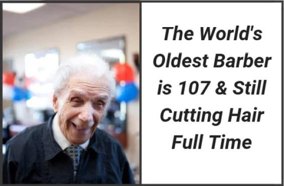 Anthony Mancinelli - World's Oldest Barber