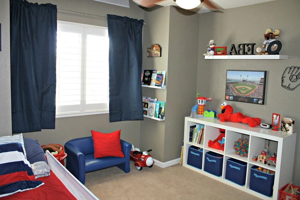 35 Best Kids Room Paint Colors For 2019 - Minimal Spark on Small Bedroom Ideas For Boys  id=53080