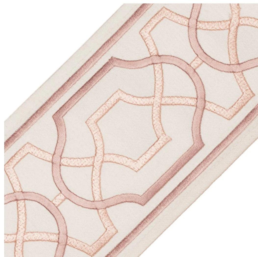 samuel sons trim curtain trim wide trim tape wide pink greek key trim aqua velvet trim wide tape curtain trim maru embroidered border trim