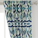 Blue Green Curtains Navy Teal White Curtains Blue Green Ikat Drapes Cu Jll Home