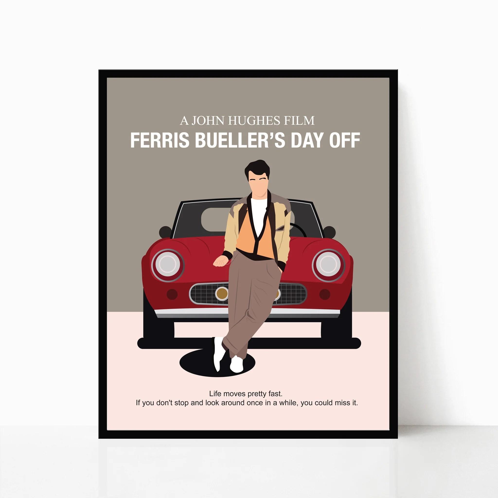 ferris bueller s day off poster