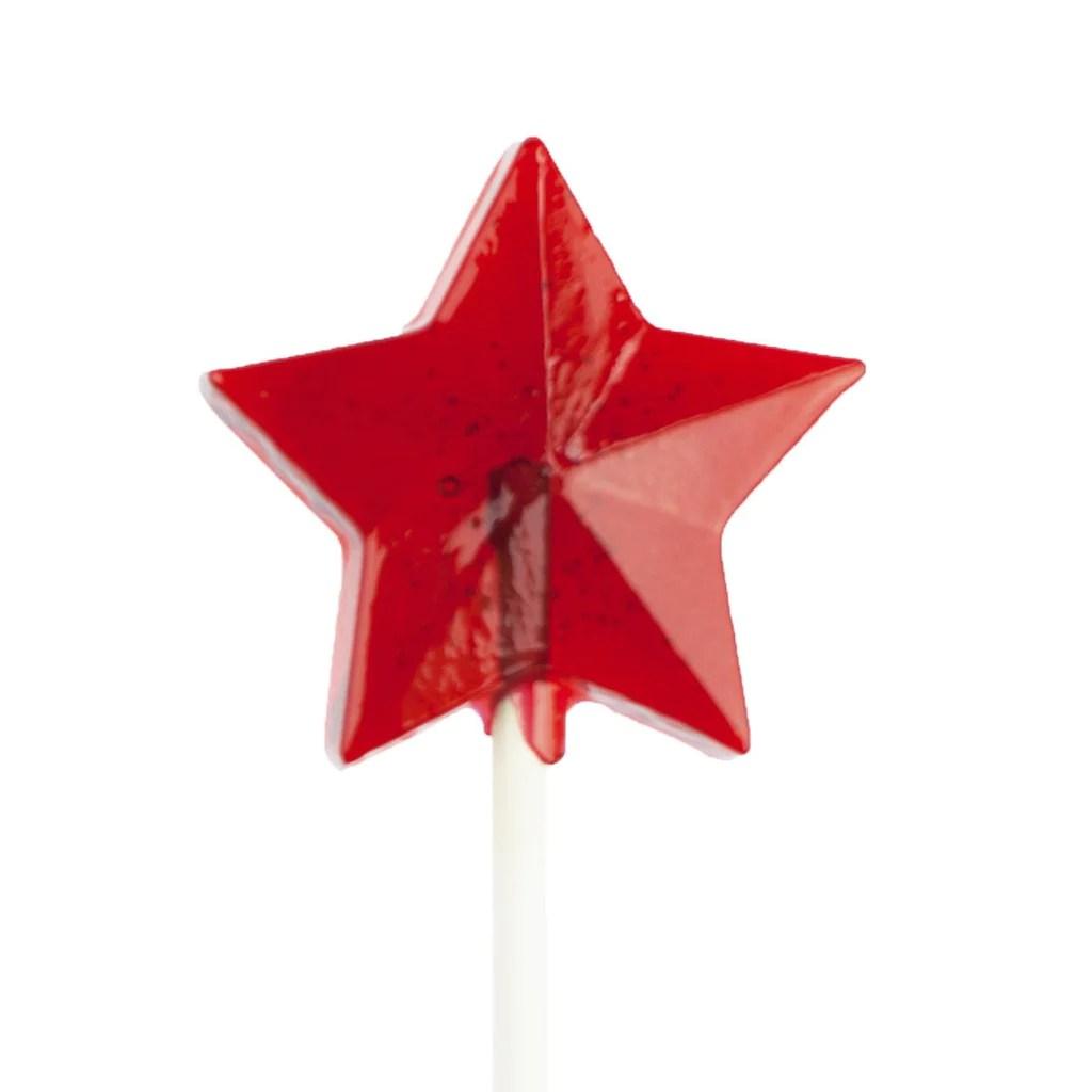 SugarFree Red Star Fireworks Lollipops (24 Pieces ...