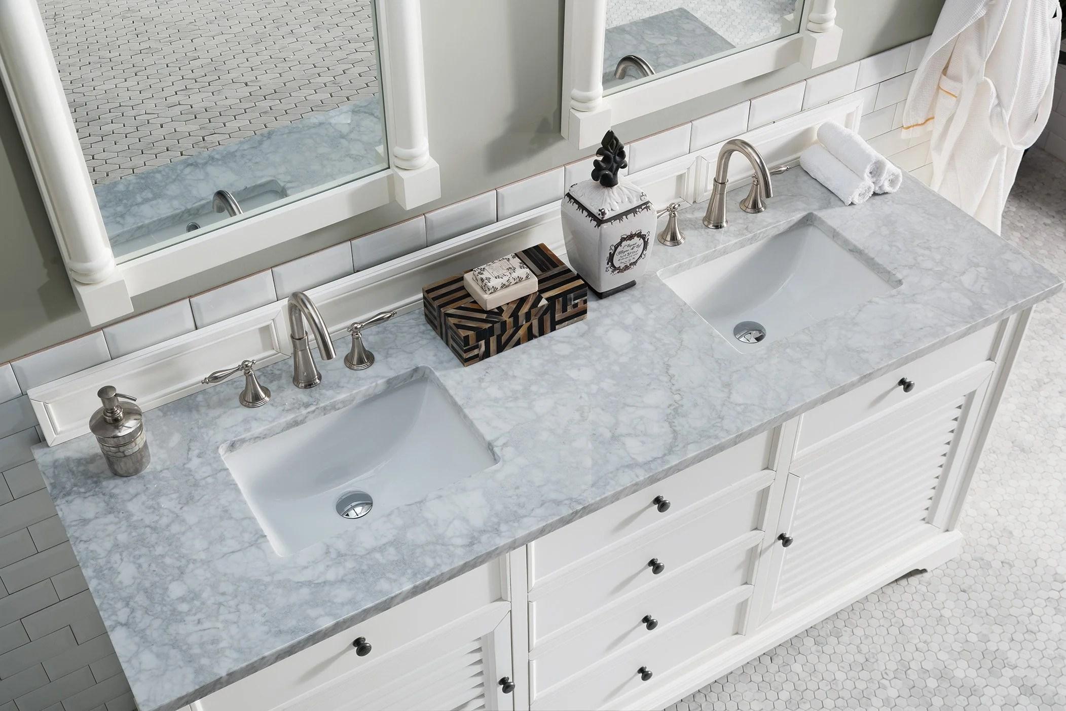 savannah 72 double bathroom vanity