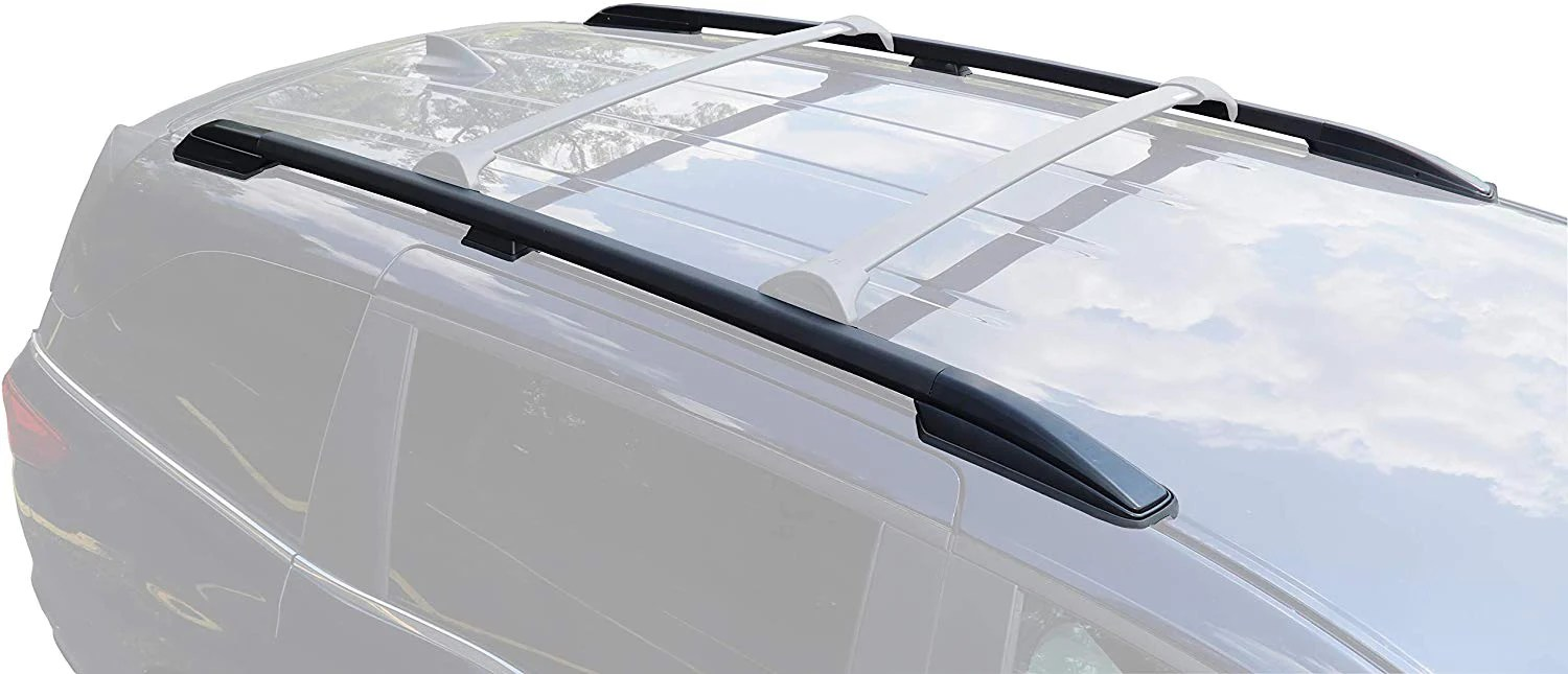 brightlines crossbars roof side rails compatible with 2018 2021 honda odyssey