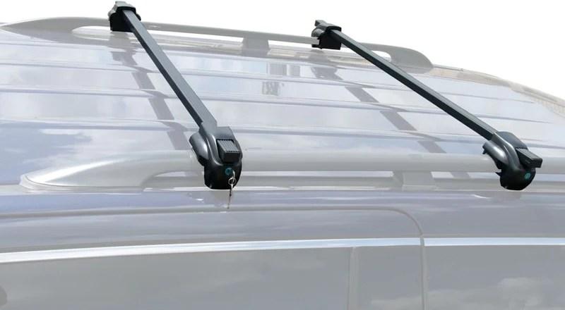 brightlines nissan rogue roof rack crossbars 2008 2017 lockable steel