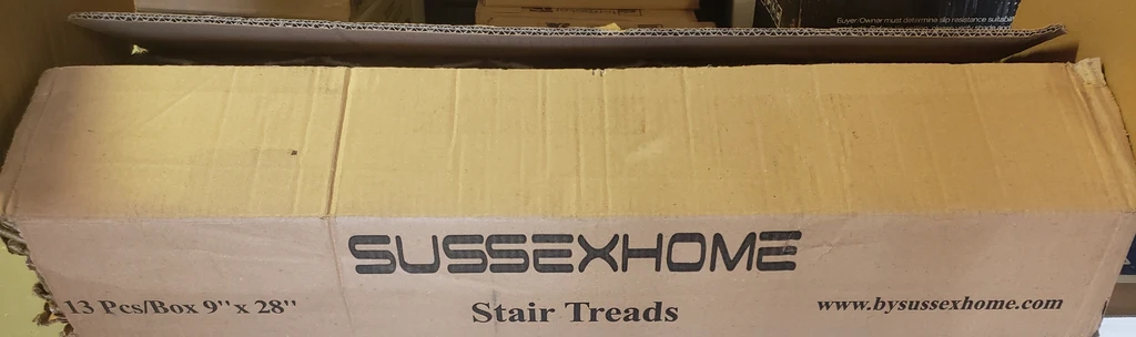 Beige Gold White Trellis Pattern Stick On Stair Treads Pack Of | Stick On Stair Treads | Step | Unique | Maple Stair | Integrated Post | Solid Weathered