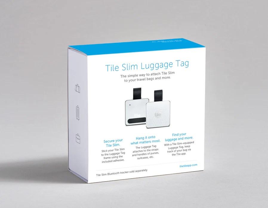 tile slim luggage clip axtro