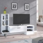 York Tv Stand Entertainment Center For Tv Up To 55