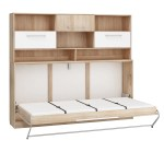 Roger European Single Kids Murphy Bed With Storage Furniture Agency