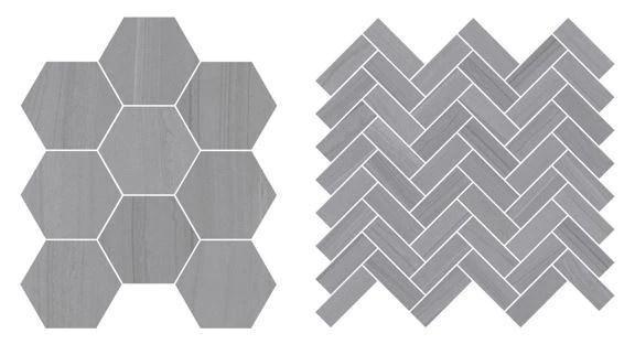 sequence porcelain tile piece