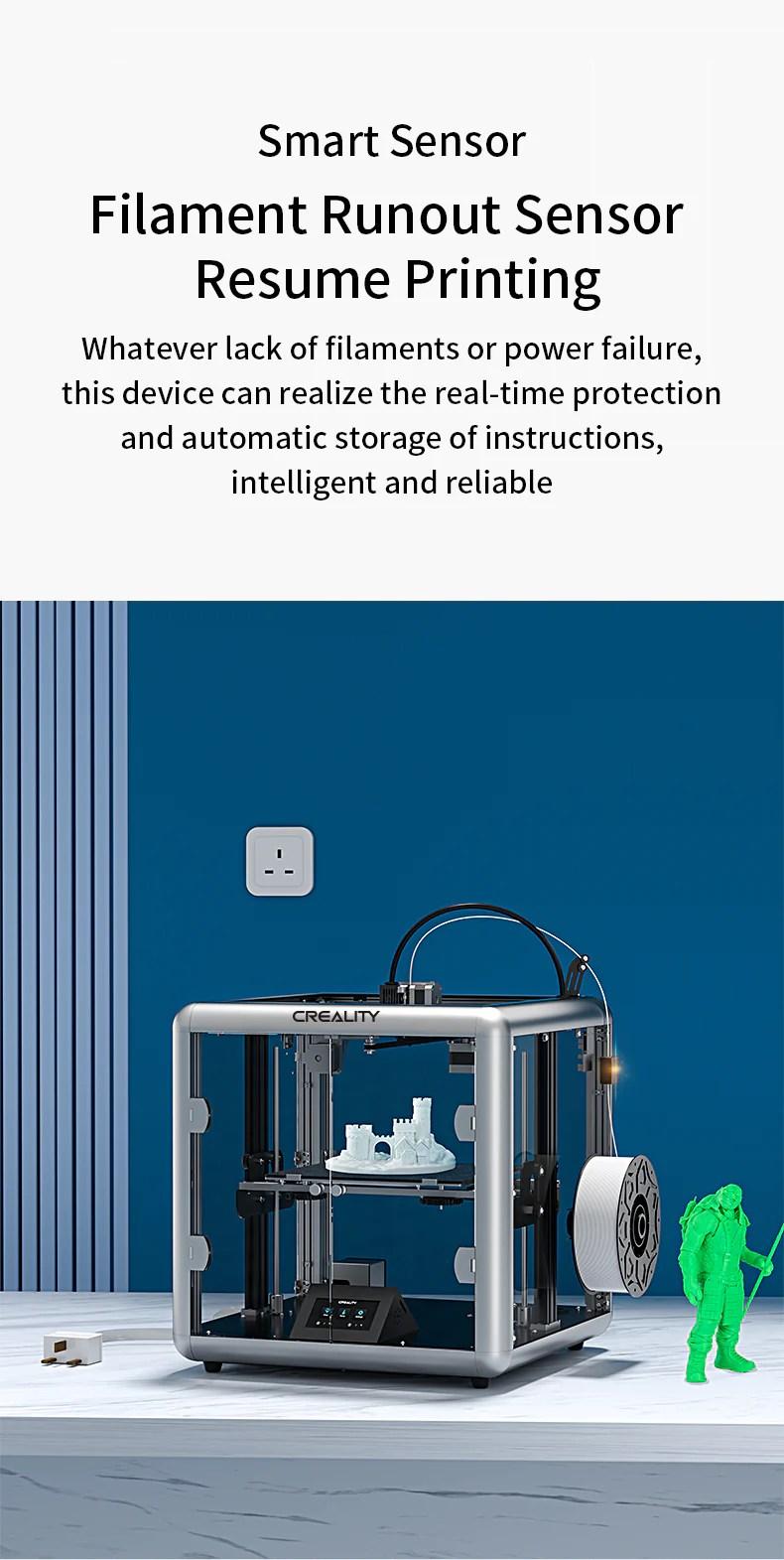Sermoon D1 Kapalı 3D Yazıcı