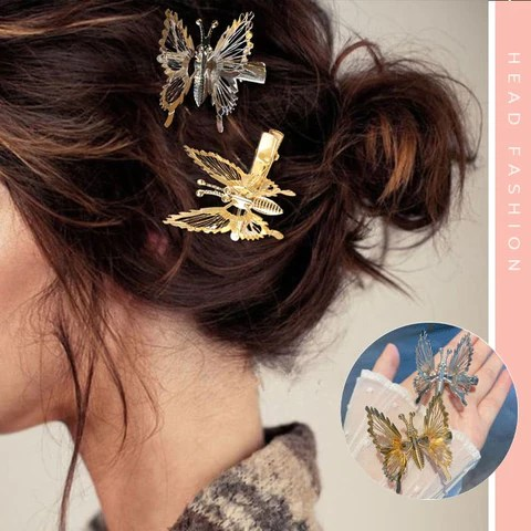 Moving Butterfly Hairpin
