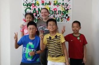 Teaching primary schoolers in China