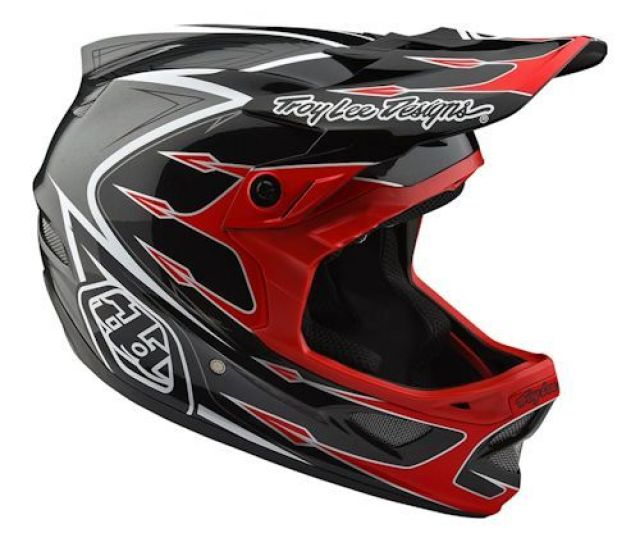 Troy Lee Designs Troy Lee D3 Composite Corona Red Grey