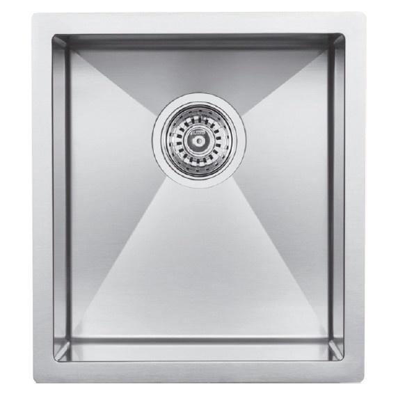 blanco 400430 radius 10 u stainless steel undermount small bar sink